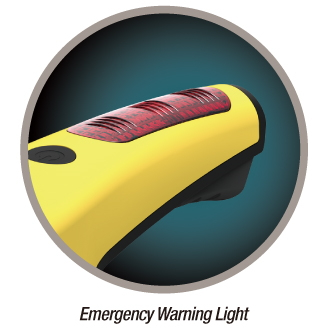 emergency warning light - wowidea knockr k6 multi-functional safety hammer for outdoor and auto