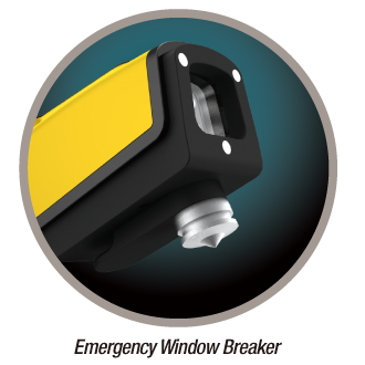 emergency window breaker - wowidea knockr k6 multi-functional safety hammer for outdoor and auto
