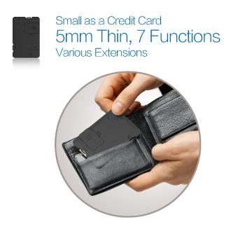 WOW!dea MOCA X7 Multi-functional Portable Data Card