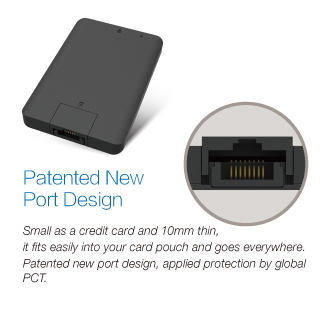 WOW!dea MOCA XP Ultra-thin Wireless Router and Charger