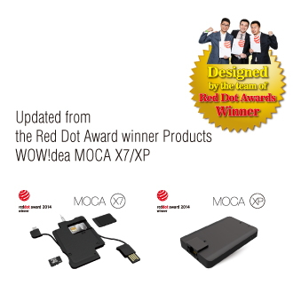 WOW!dea MOCA X8 Multi-functional Data & Portable Charger