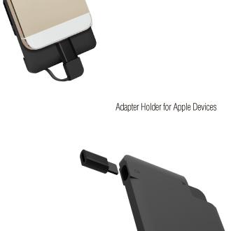 WOW!dea MOCA X8 Multi-functional Data & Portable Charger