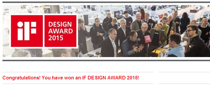 WOW!dea wins iF Design Award 2015
